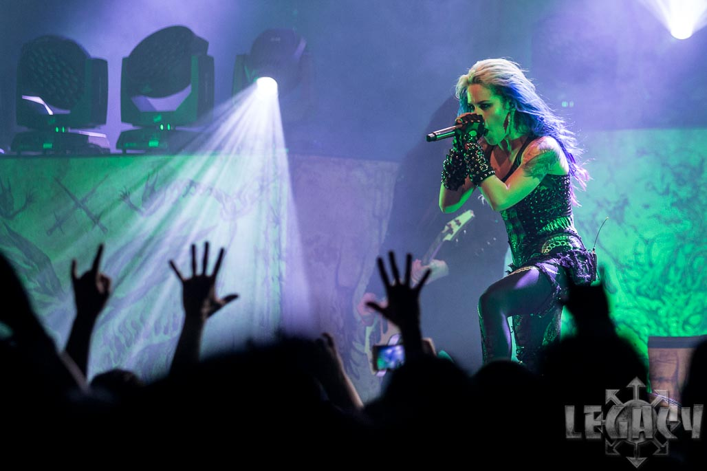 ARCH ENEMY, WINTERSUN, TRIBULATION, JINJER@ Wiesbaden, Schlachthof-06.02.18