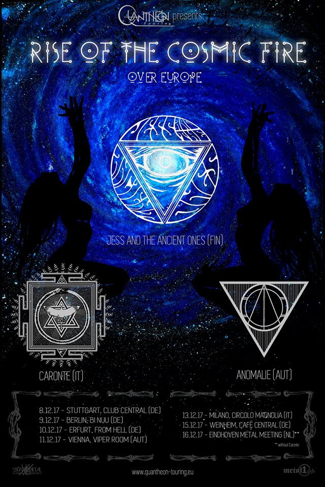 Rise Of The Cosmic Fire-Tour im Dezember