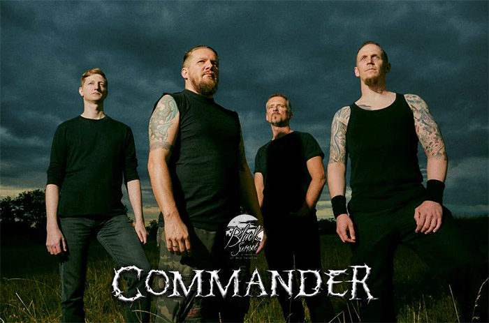 COMMANDER: Neues Album mit Deal bei Black Sunset