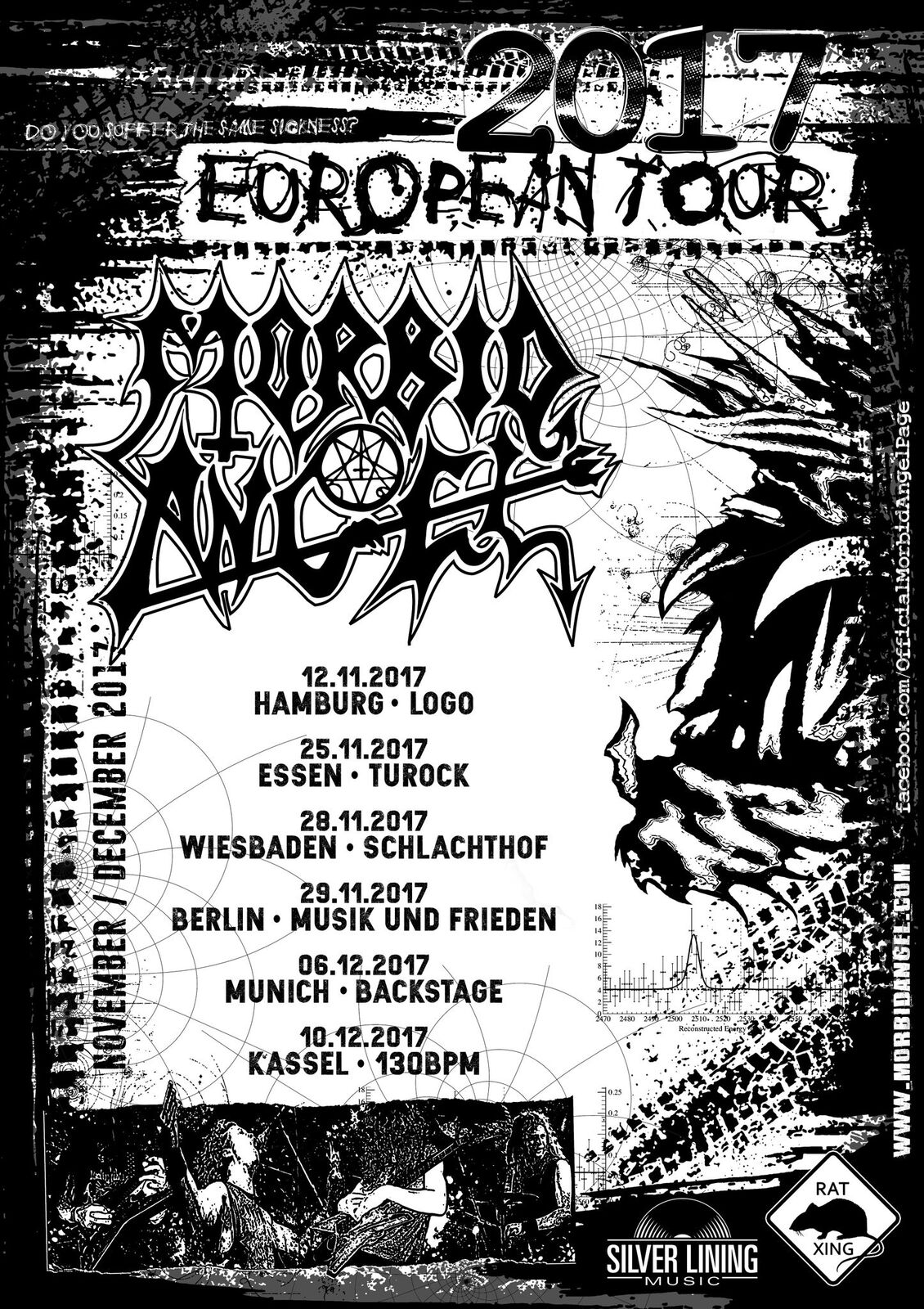 MORBID ANGEL canceln Tour