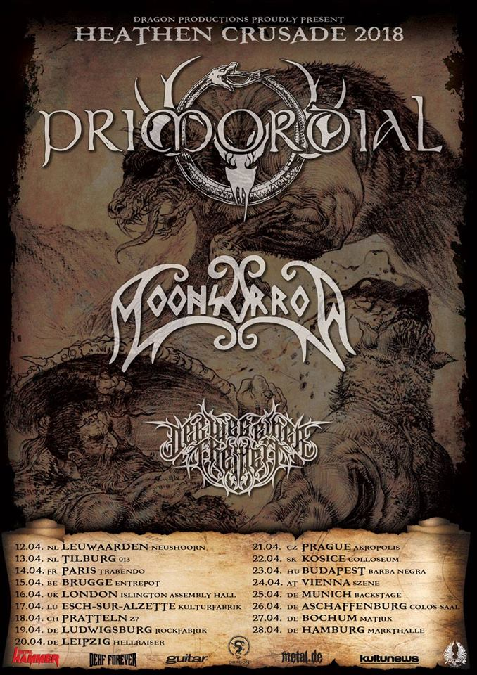 PRIMORDIAL ab Donnerstag auf