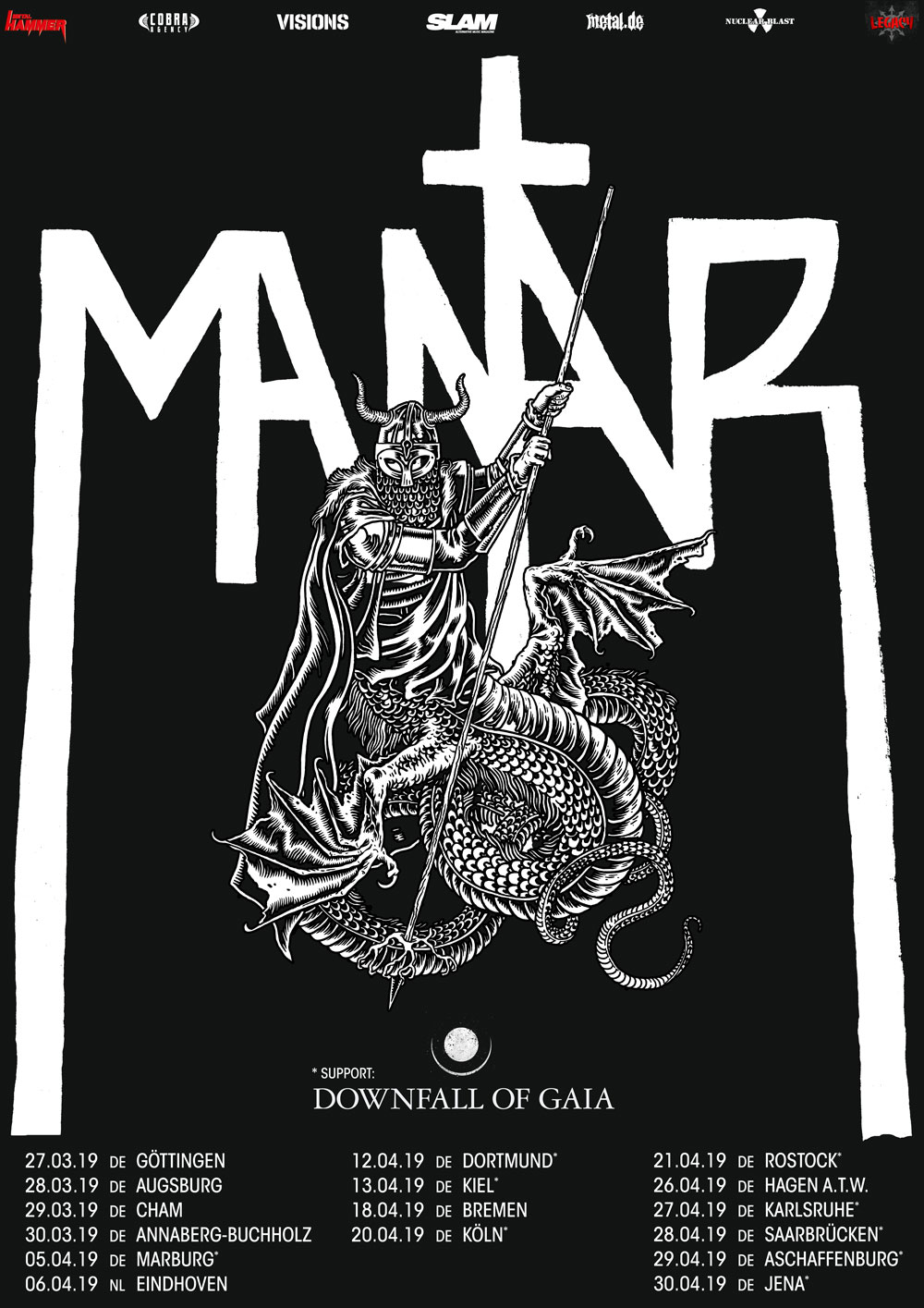 MANTAR & DOWNFALL OF GAIA