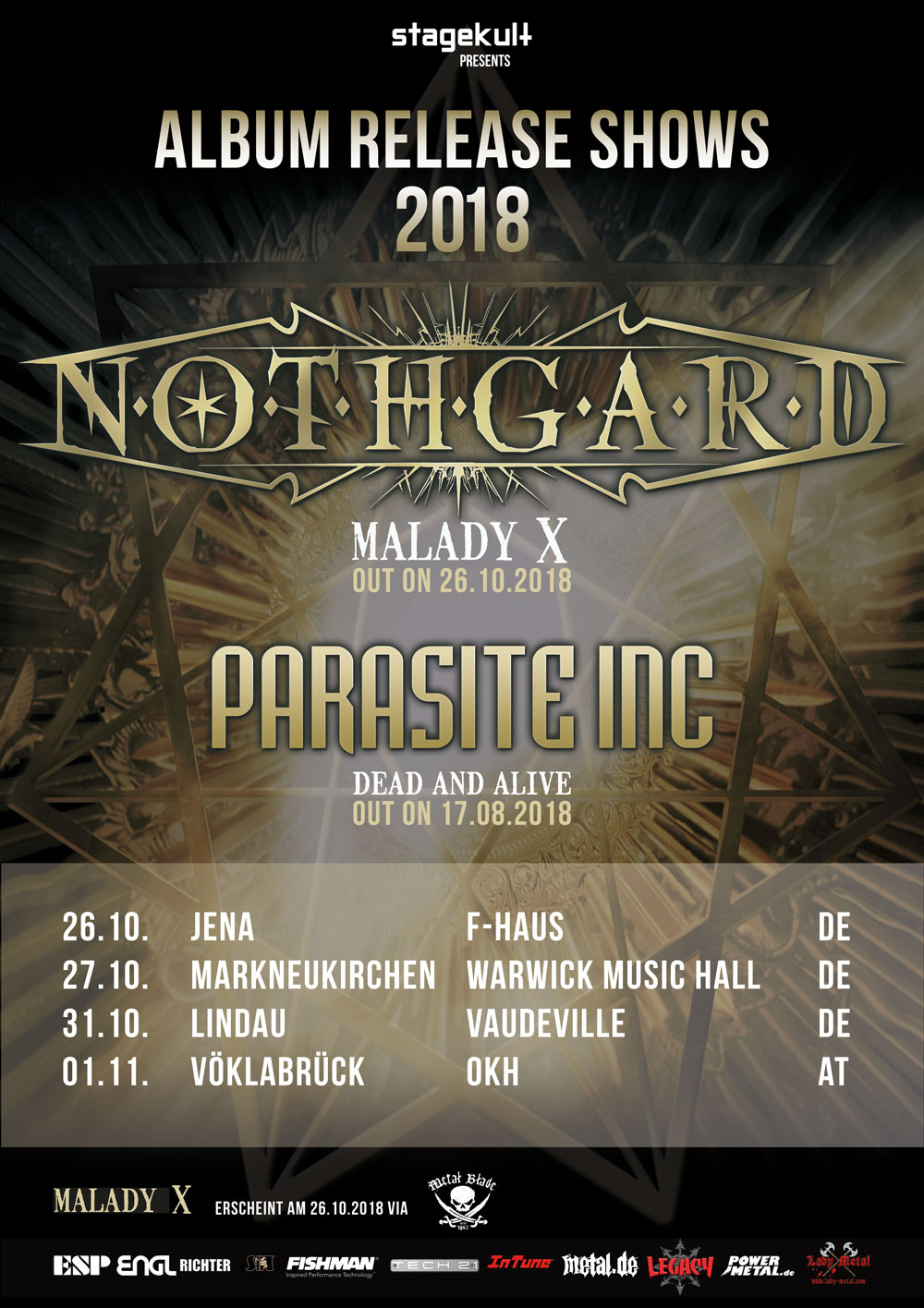 NOTHGARD & PARASITE INC