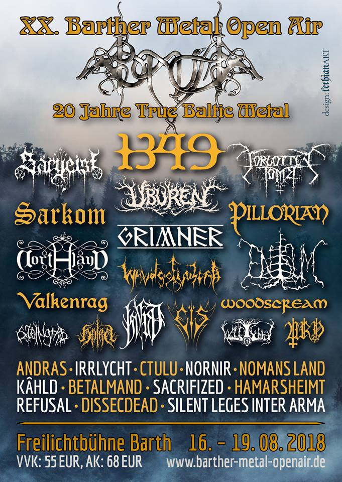 BARTHER METAL OPEN AIR 2018