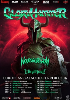 GLORYHAMMER & NEKROGOBLIKON & WIND ROSE