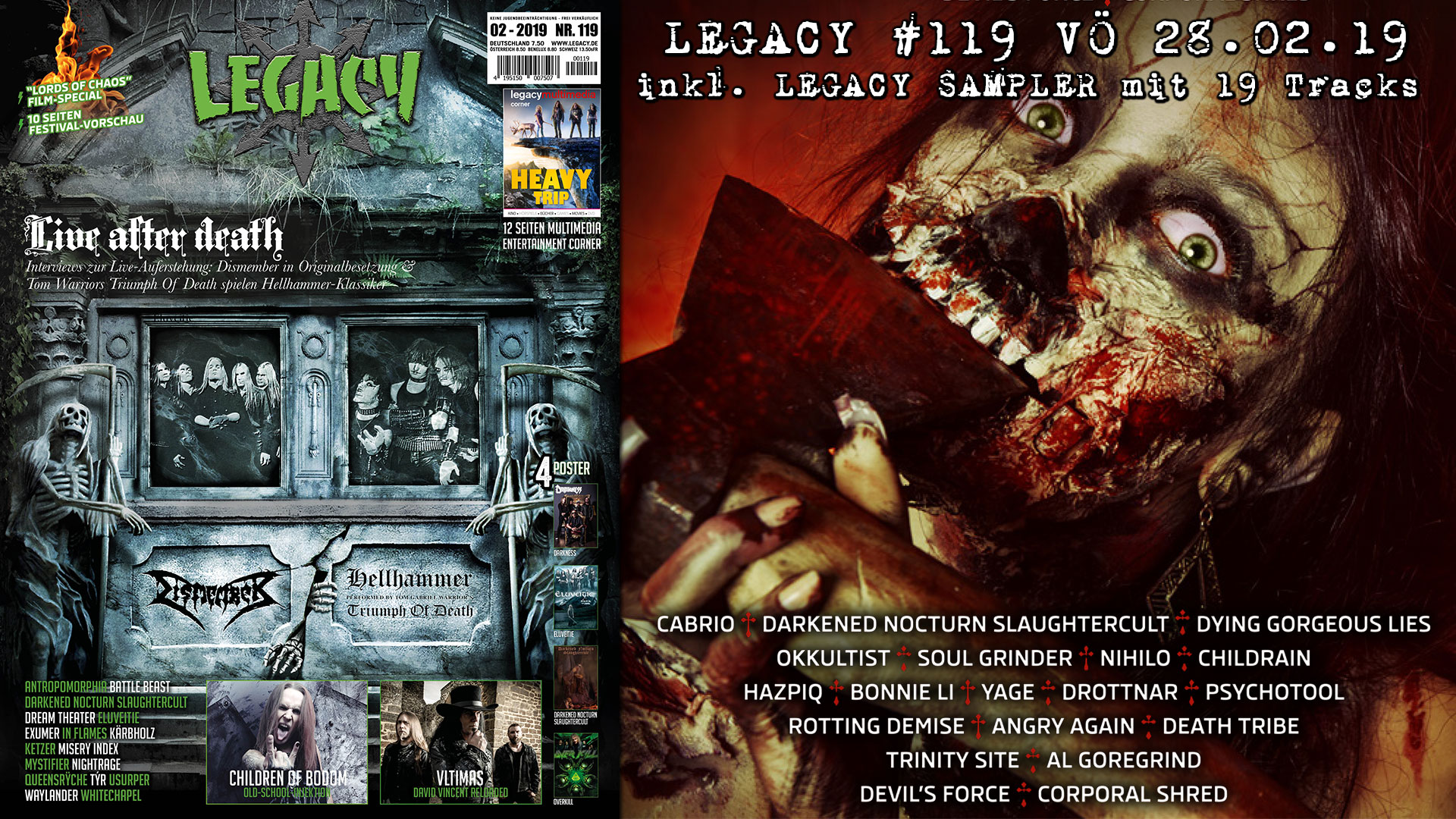 LEGACY #119 out 28.02.2019