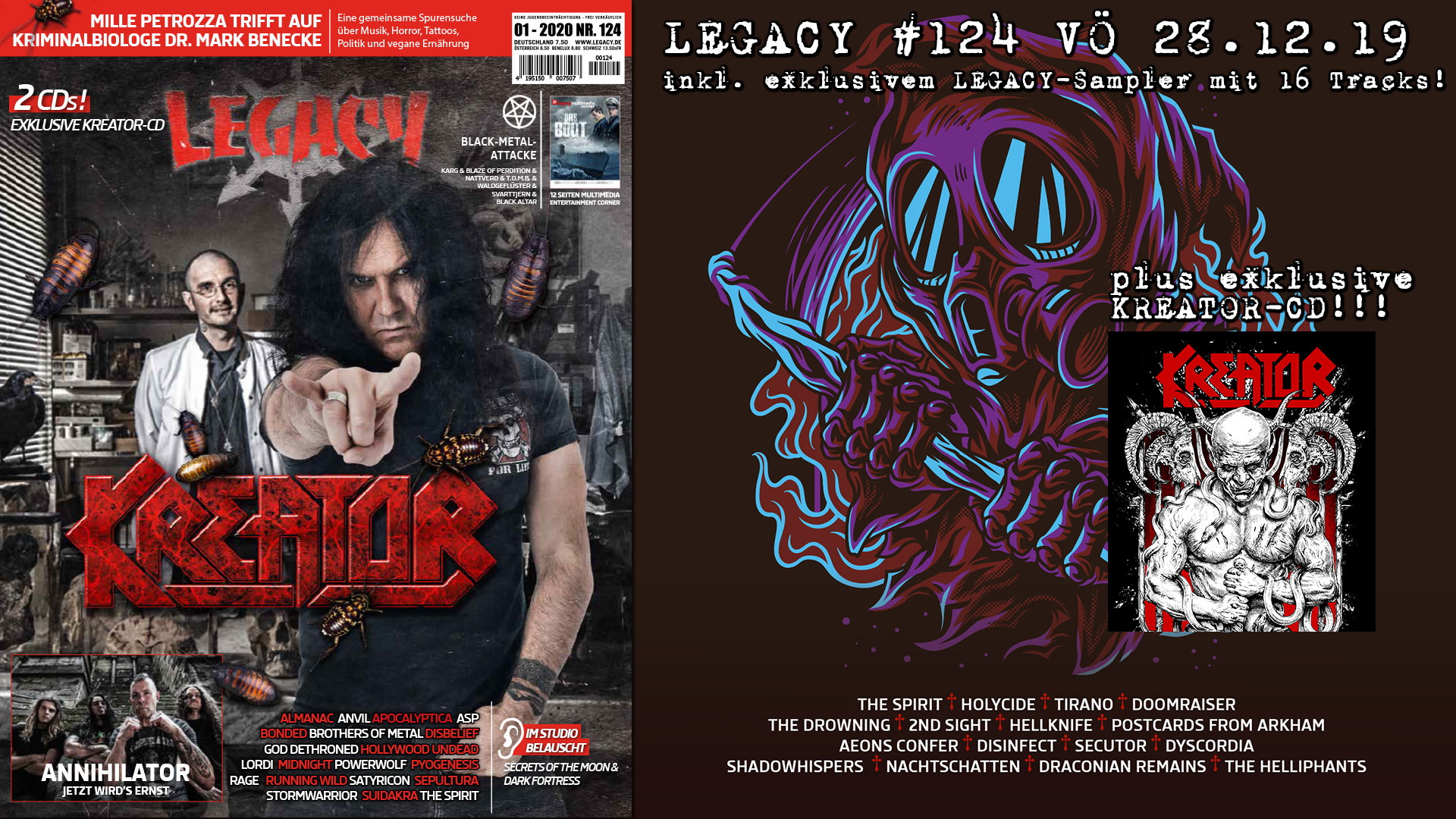 LEGACY #124 out 28.12.2019