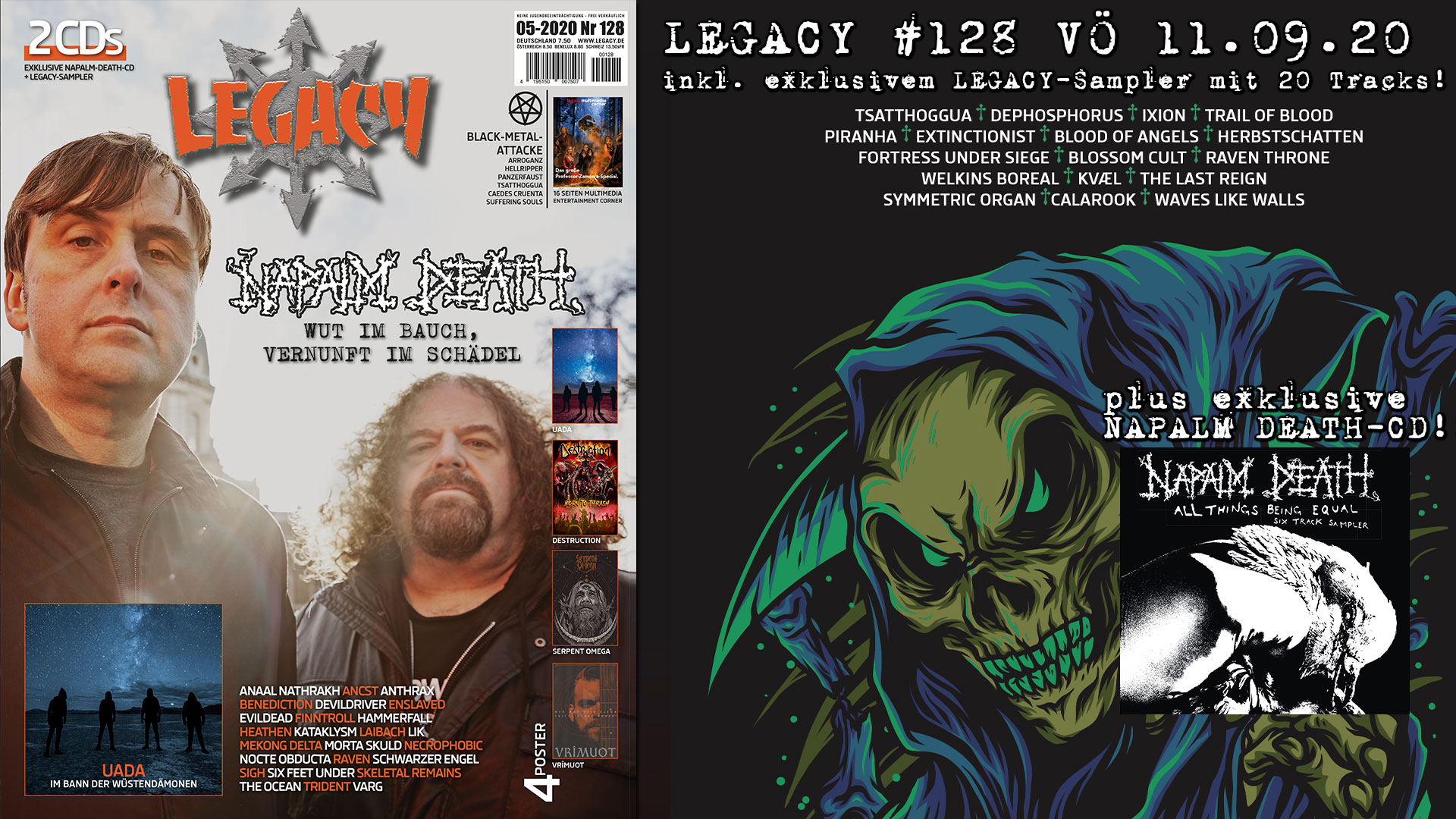 LEGACY #128 out 11.09.2020