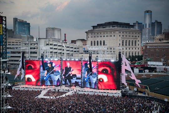 METALLICA WORLDWIRED TOUR OPEN AIR IN EUROPA